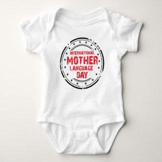 International Mother Language Day Baby Bodysuit