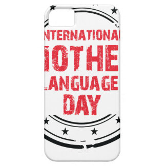 International Mother Language Day Case For The iPhone 5
