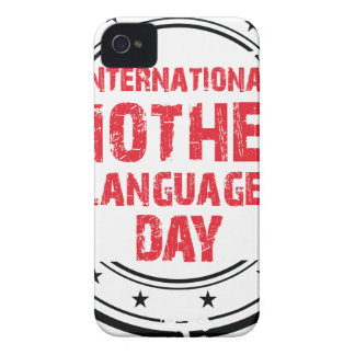 International Mother Language Day iPhone 4 Cases