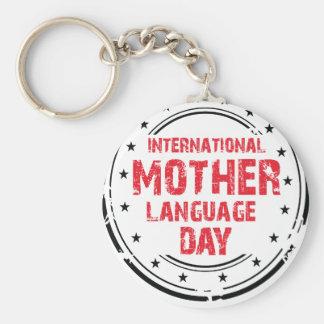 International Mother Language Day Key Ring
