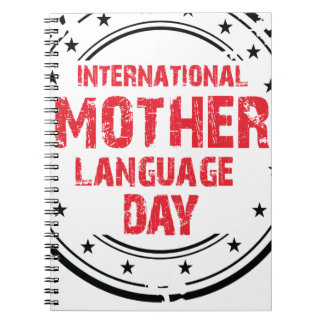 International Mother Language Day Note Book