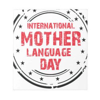 International Mother Language Day Notepads