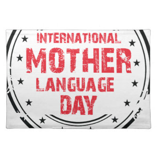 International Mother Language Day Placemat