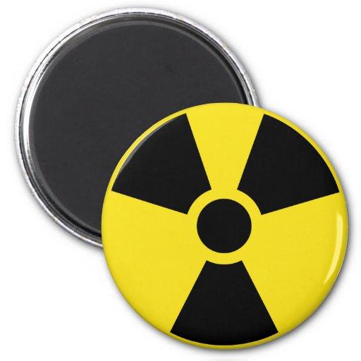 International Nuclear Sign Fridge Magnets