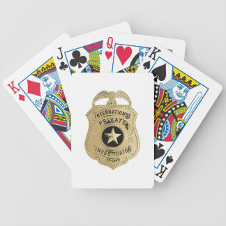 International Private Investigator Bicycle Playing Cards