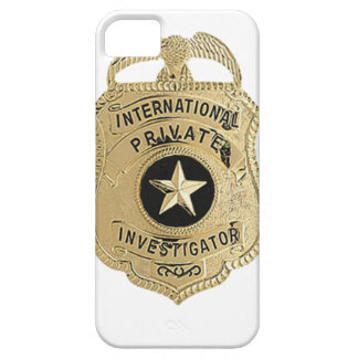 International Private Investigator iPhone 5 Cases