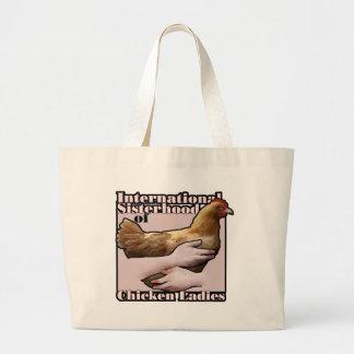 International Sisterhood of Chicken Ladies bag