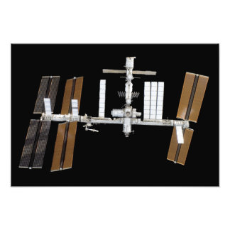 International Space Station 14 Photographic Print