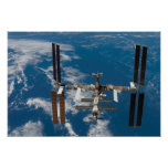 International Space Station 4 Poster