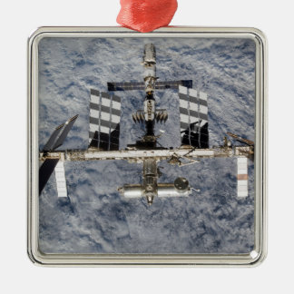 International Space Station 6 Metal Ornament