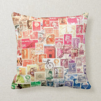 International Stamp Pillow