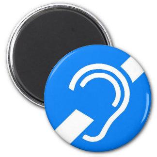 International Symbol for the Deaf Magnet