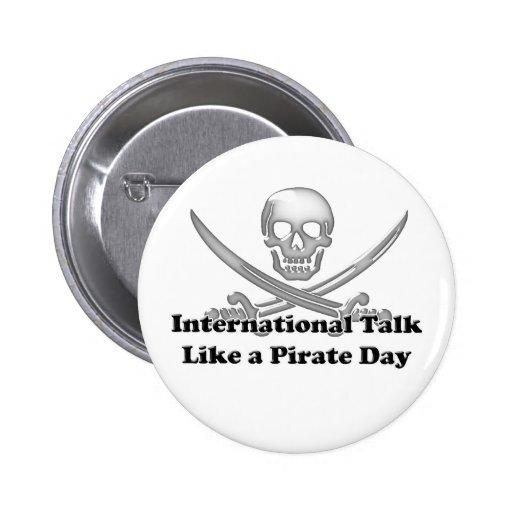 International Talk Like a Pirate Day Pins