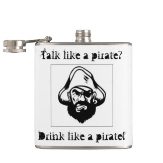 International Talk Like A Pirate Day Flask
