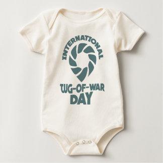 International Tug-of-War Day - 19th February Baby Bodysuit