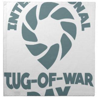 International Tug-of-War Day - 19th February Napkin