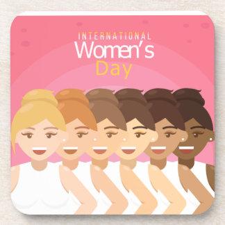 international Womens Day Coaster