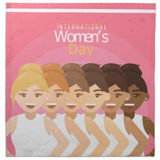 international Womens Day Napkin