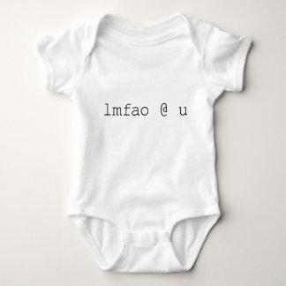 Internet Chat Speak - LMAO @ U Baby Bodysuit