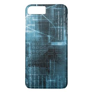 Internet Concept Background with Digital Concept iPhone 7 Plus Case