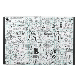 Internet doodles iPad air covers