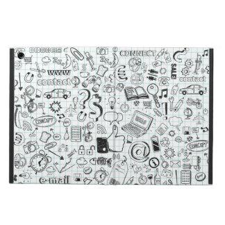 Internet doodles iPad air covers