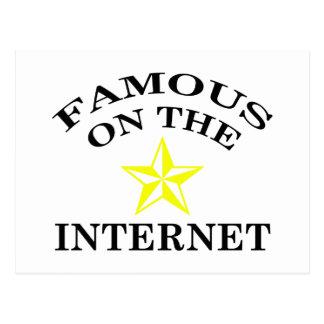 Internet Famous Postcard