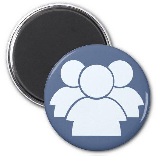 Internet Forum Icon Magnet