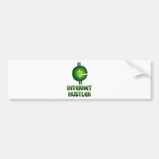 Internet Hustler Bumper Stickers