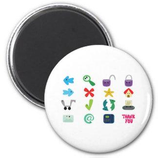 Internet Icons Magnet