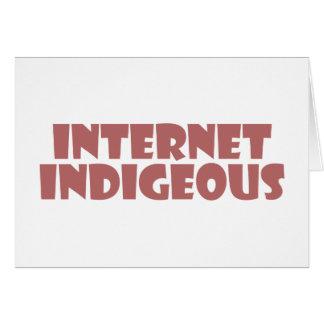 internet Indigenous Grußkarten