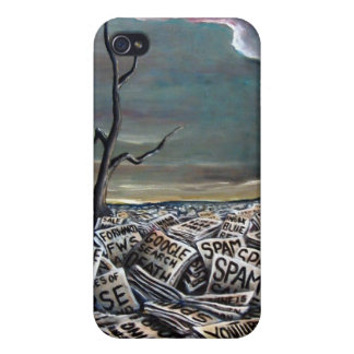 Internet landscape iPhone 4 case