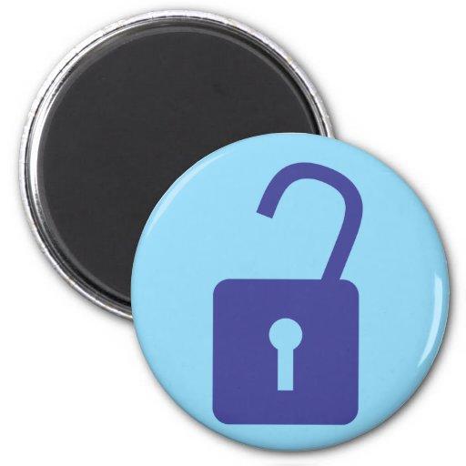 Internet Logout Icon Magnet
