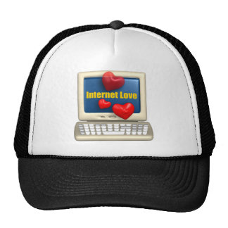 Internet Love T-shirts and Gifts Hat