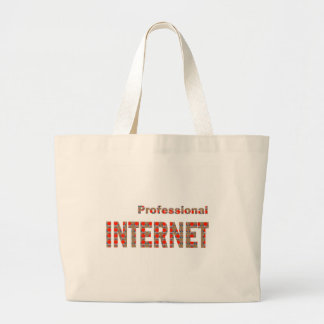 INTERNET Professional:  WoW WwW Web Net Pod APP Jumbo Tote Bag