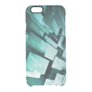 Internet Speed of Broadband Web Download Upload Clear iPhone 6/6S Case