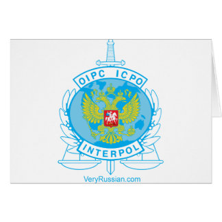 interpol russia badge cards