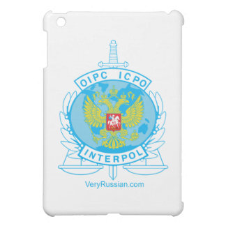 interpol russia badge iPad mini covers