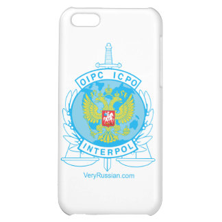 interpol russia badge cover for iPhone 5C