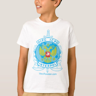 interpol russia badge T-Shirt