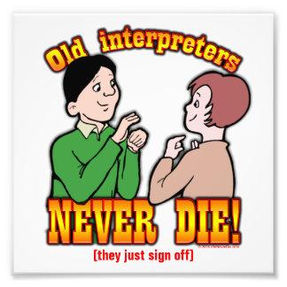 Interpreters Photograph