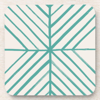 Intersect Coaster - Teal