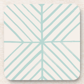 Intersect Coaster - Turquoise