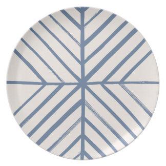 Intersect Dinner Plate - Denim