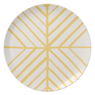 Intersect Dinner Plate - Gold