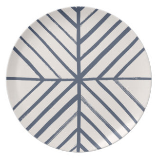 Intersect Dinner Plate - Navy