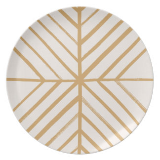 Intersect Dinner Plate - Tan