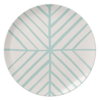 Intersect Dinner Plate - Turquoise