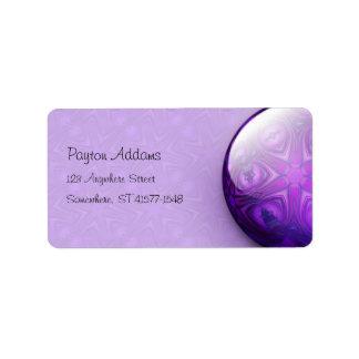 Intersect Jewel - Address Avery Label Address Label