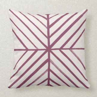 Intersect Pillow - Merlot Cushions